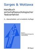 Handbuch wirtschaftspsychologischer Testverfahren: Personalpsychologische Instrumente; Bd.1
