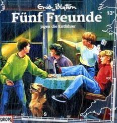 Fünf Freunde jagen die Entführer, 1 Audio-CD