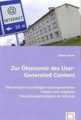 Zur Ökonomie des User-Generated Content (eBook, PDF)