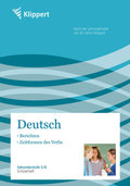 Deutsch, Berichten, Zeitformen des Verbs, Schülerheft