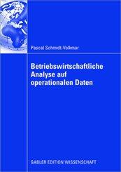 Betriebswirtschaftliche Analyse auf operationalen Daten
