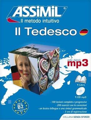 Assimil Il Tedesco, Lehrbuch und 1 MP3-CD