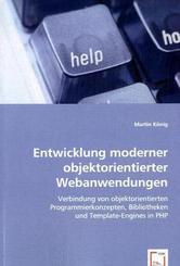 Entwicklung moderner objektorientierter Webanwendungen (eBook, 15x22x0,4)