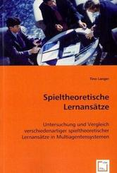 Spieltheoretische Lernansätze (eBook, PDF)