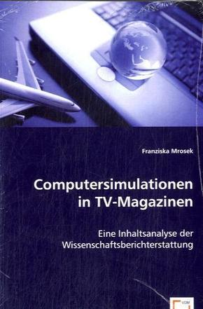 Computersimulationen in TV-Magazinen (eBook, PDF)