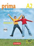 Prima - Deutsch für Jugendliche/junge Erwachsene: Arbeitsbuch, m. Audio-CD; Bd.4