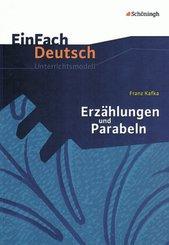 """Franz Kafka """"Erzählungen und Parabeln"""""""