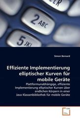 Effiziente Implementierung elliptischer Kurven für mobile Geräte (eBook, PDF)