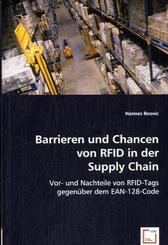 Barrieren und Chancen von RFID in der Supply Chain (eBook, PDF)