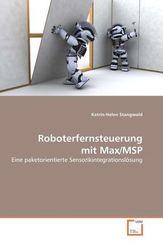 Roboterfernsteuerung mit Max/MSP (eBook, 15x22x0,7)