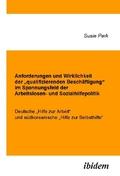 Anforderungen und Wirklichkeit der qualifizierenden Beschäftigung im Spannungsfeld der Arbeitslosen- und Sozialhilfepoli