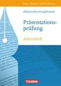 Texte, Themen und Strukturen, Arbeitshefte: Abiturvorbereitung Deutsch: Die Präsentationsprüfung