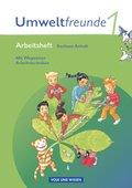 Umweltfreunde, Ausgabe Sachsen-Anhalt (Neubearbeitung 2009): 1. Schuljahr, Arbeitsheft