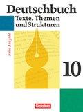 Deutschbuch, Gymnasium Allgemeine Ausgabe, Neue Ausgabe: 10. Schuljahr, Schülerbuch