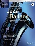 Jazz Ballads, für Alt-Saxophon, Einzelstimme und Klaviersatz