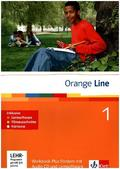Orange Line: Klasse 5, Workbook Plus Fördern, m. Audio-CD u. 2 CD-ROMs; Bd.1