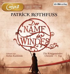 Der Name des Windes, 4 Audio-CD,