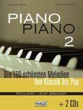 Piano Piano, leicht arrangiert, m. 2 Audio-CDs - Tl.2