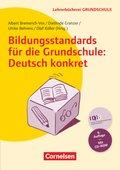 Bildungsstandards für die Grundschule: Deutsch konkret, m. CD-ROM