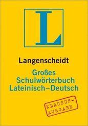 Langenscheidt Großes Schulwörterbuch Lateinisch, Klausurausgabe