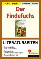 Irina Korschunow 'Der Findefuchs', Literaturseiten