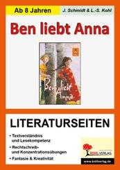 Peter Härtling 'Ben liebt Anna', Literaturseiten