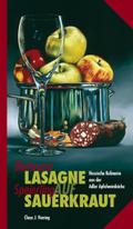 Blutwurst-Lasagne auf Speierling-Sauerkraut