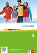 Green Line, Neue Ausgabe für Gymnasien: Workbook, m. 2 Audio-CDs u. CD-ROM; Bd.4