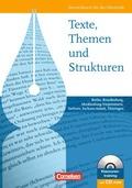 Texte, Themen und Strukturen, Ausgabe Östliche Bundesländer und Berlin, Schülerbuch m. CD-ROM