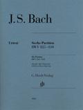 Sechs Partiten BWV 825-830, für Klavier