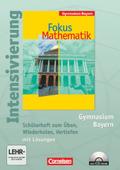 Fokus Mathematik, Gymnasium Bayern: 7. Jahrgangsstufe, Intensivierung Mathematik, m. CD-ROM