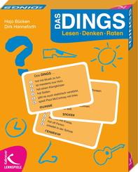 Das DINGS Lesen-Denken-Raten (Spiel)