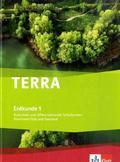TERRA Erdkunde, Ausgabe Rheinland-Pfalz und Saarland (Neubearbeitung 2008): 5./6. Schuljahr, Schülerbuch m. CD-ROM; Bd.1