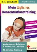 Kohls Konzentrationstraining, 3./4. Schuljahr