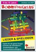 Boomwhackers, Lieder und Spielideen, m. CD-ROM