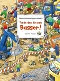 Finde den kleinen Bagger! - Finde den roten Ritterhelm!