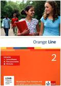 Orange Line: Klasse 6, Workbook Plus Fördern, m. Audio-CD u. 2 CD-ROMs; Bd.2