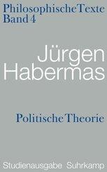 Philosophische Texte, Studienausgabe, 5 Bde.: Politische Theorie