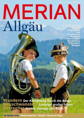 Merian Reisemagazin - Allgäu (Heft)