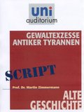 Gewaltexzesse antiker Tyrannen, 1 Audio-CD