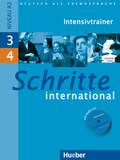 Schritte international - Deutsch als Fremdsprache: Intensivtrainer, m. Audio-CD; Bd.3/4