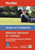 Hörkurs Deutsch für Anfänger, Deutsch-Türkisch, 2 Audio-CDs + Begleitheft