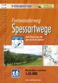 Hikeline Wanderführer Fernwanderweg Spessartwege