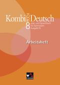 Kombi-Buch Deutsch, Ausgabe N: 8. Jahrgangsstufe, Arbeitsheft