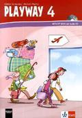 Playway ab Klasse 1, Ausgabe HH, NW, RP, BW, BE, BB ab 2008: 4. Schuljahr, Activity Book (auch für Nordrhein-Westfalen) m. Audio-CD