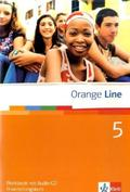Orange Line: Klasse 9, Workbook m. Audio-CD, Erweiterungskurs; Bd.5