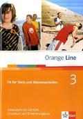 Orange Line: Fit für Tests und Klassenarbeiten, m. CD-ROM; Bd.3
