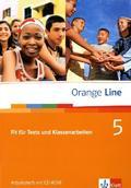 Orange Line: Fit für Tests und Klassenarbeiten, m. CD-ROM; Bd.5