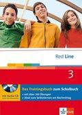 Red Line: Klasse 7, Das Trainingsbuch m. Audio-CD; Bd.3