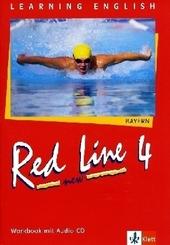Learning English, Red Line New, Ausgabe für Bayern: Workbook (Neu), Klasse 8, m. Audio-CD; Tl.4